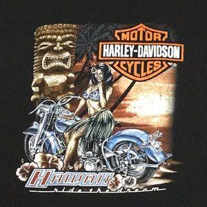 Hawaii Harley-Davidson T-shirt - 2XL